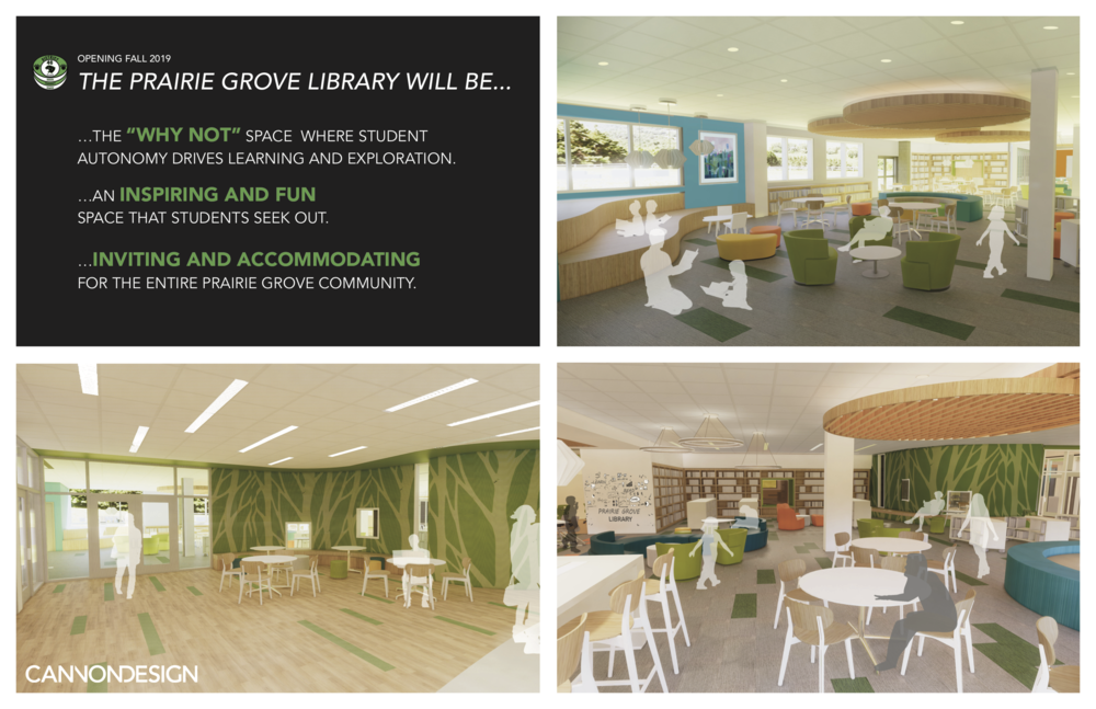Opening Fall 2019... The NEW Prairie Grove Library!