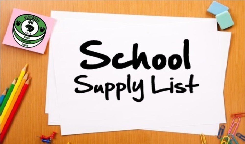 2020-2021 School Supply Lists