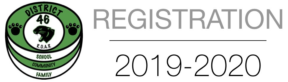 2019-2020 School Registration Information