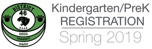 2019-2020 Kindergarten & PreSchool Registration Information