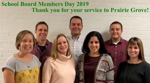 School Board Members Day, November 15,  2019