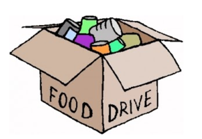 PGJH Student Council Virtual Food Drive - 11/20-12/10