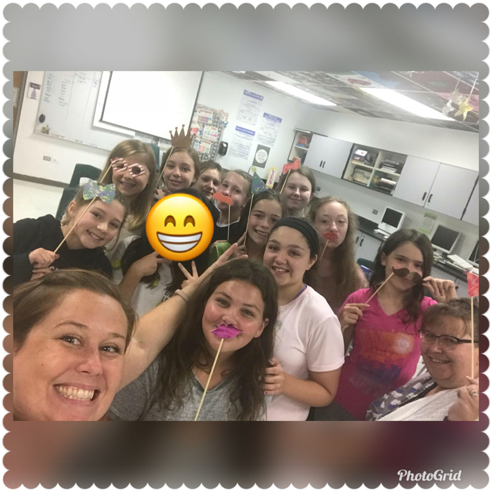 Jr. Choir PM Selfie!