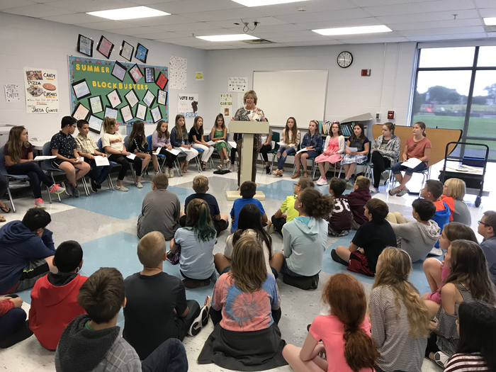 6th grade student council candidates