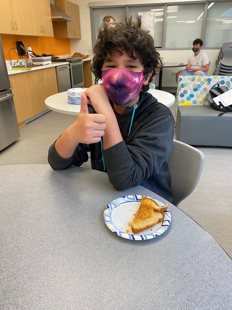 Celebrating National Grilled Cheese Month in FACS!!