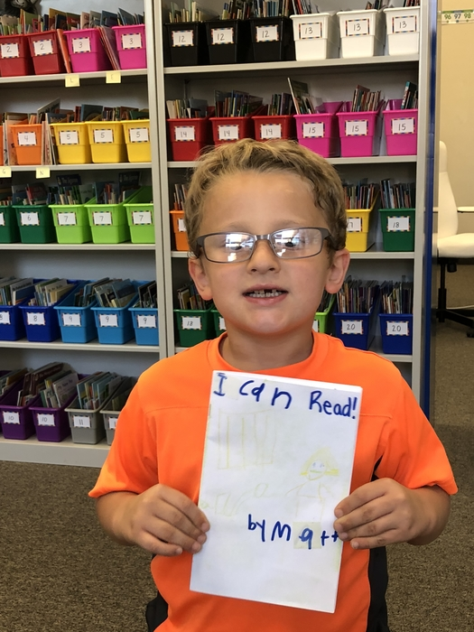 A new first grade author!