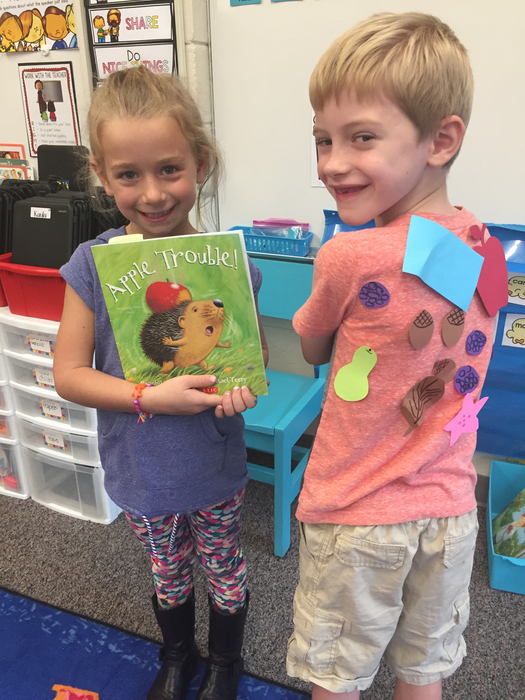 First grade shared reading