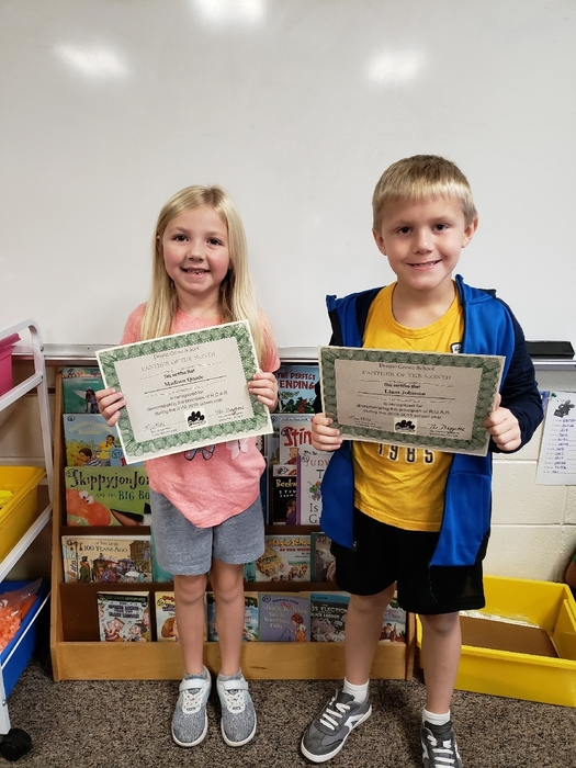 Panthers of the Month: Madison & Liam