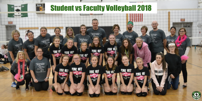 Student vs Faculty Volleyball 2018