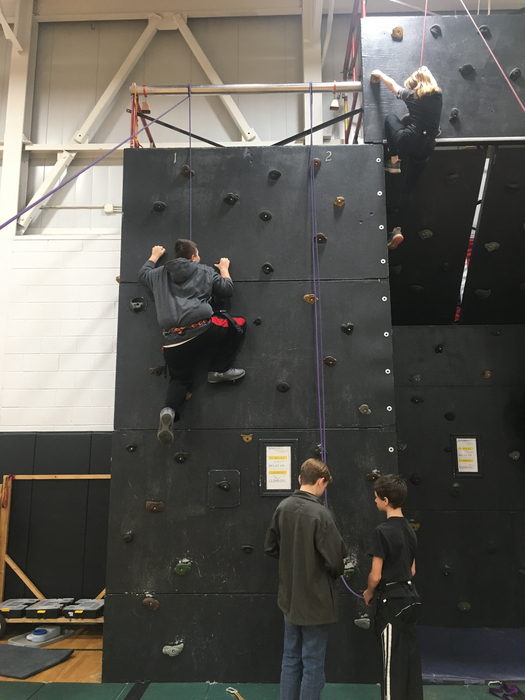 7th grade climbing to new heights!