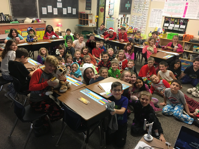 Happy Holidays from 3rd Grade!