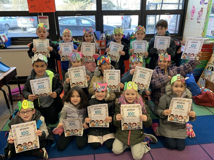 First grade is 100 days smarter!