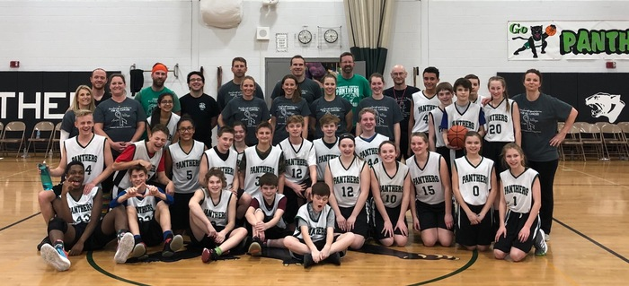 2019 8th Grade VS Faculty Basketball Game! Faculty Won!