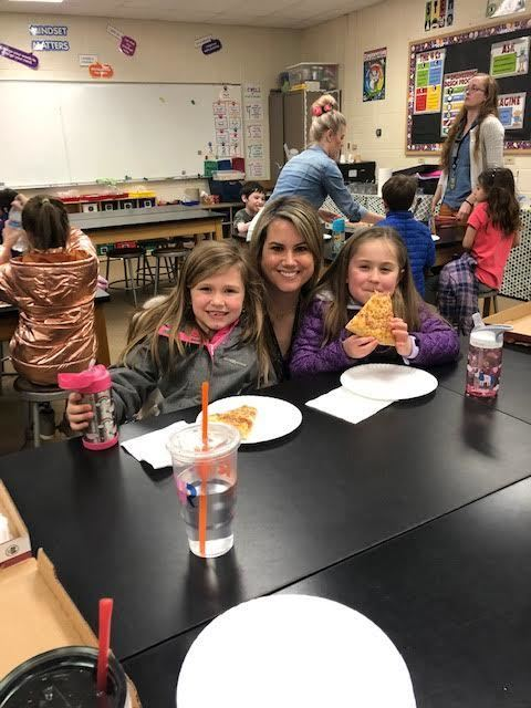 "Fun Fair ""Lunch With a Teacher"" Winners and Guests!"