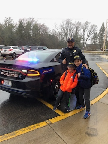 Ride to School with the Prairie Grove Police Department