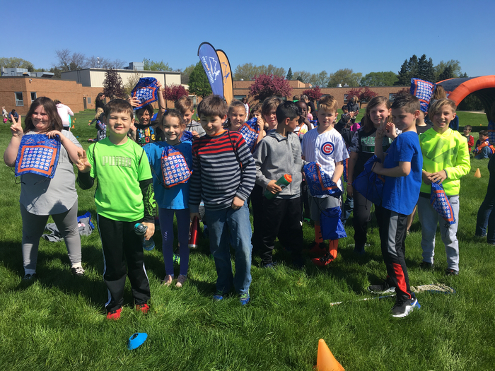 3rd Grade Apex fun run!