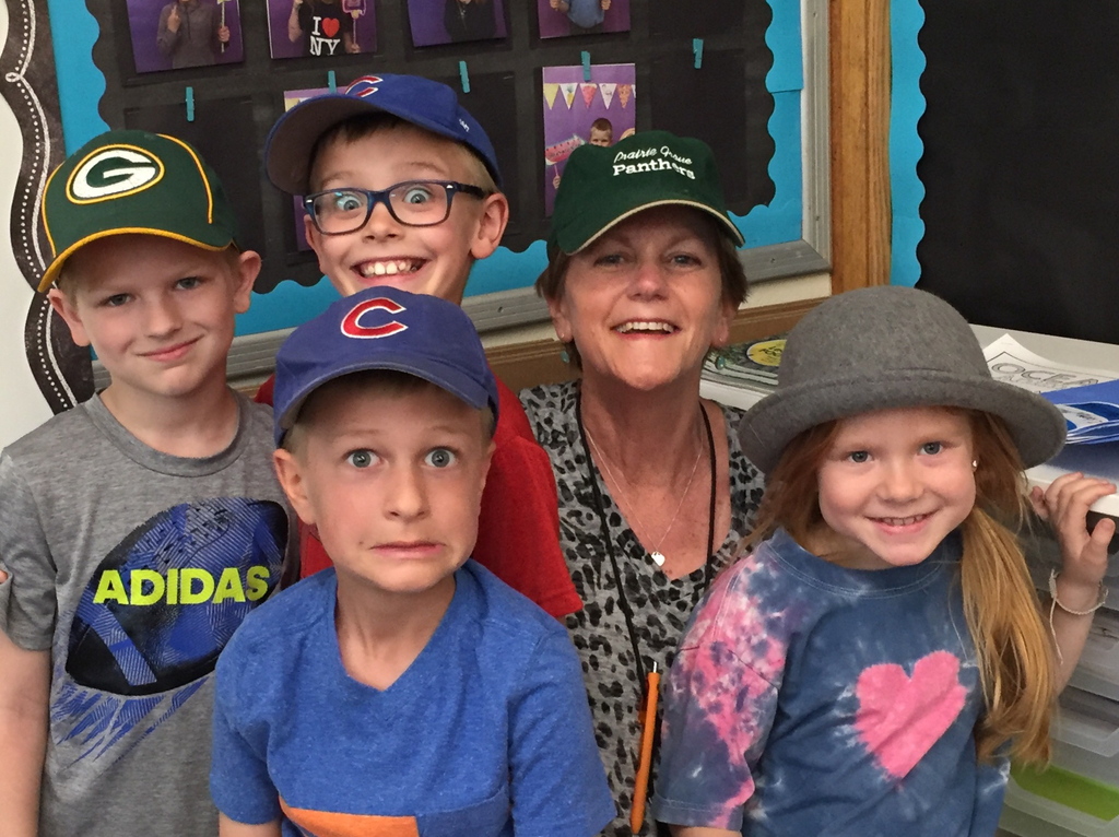 ABC countdown! Fun day hat day!