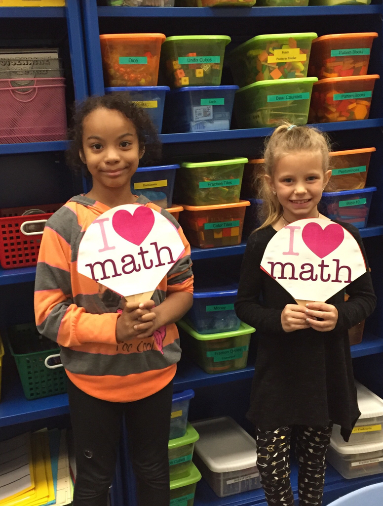 "Second grade ""Math Fans."""