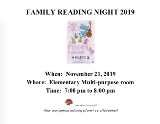 Family Reading Night 2019