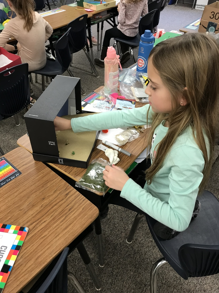 Researching and creating dioramas