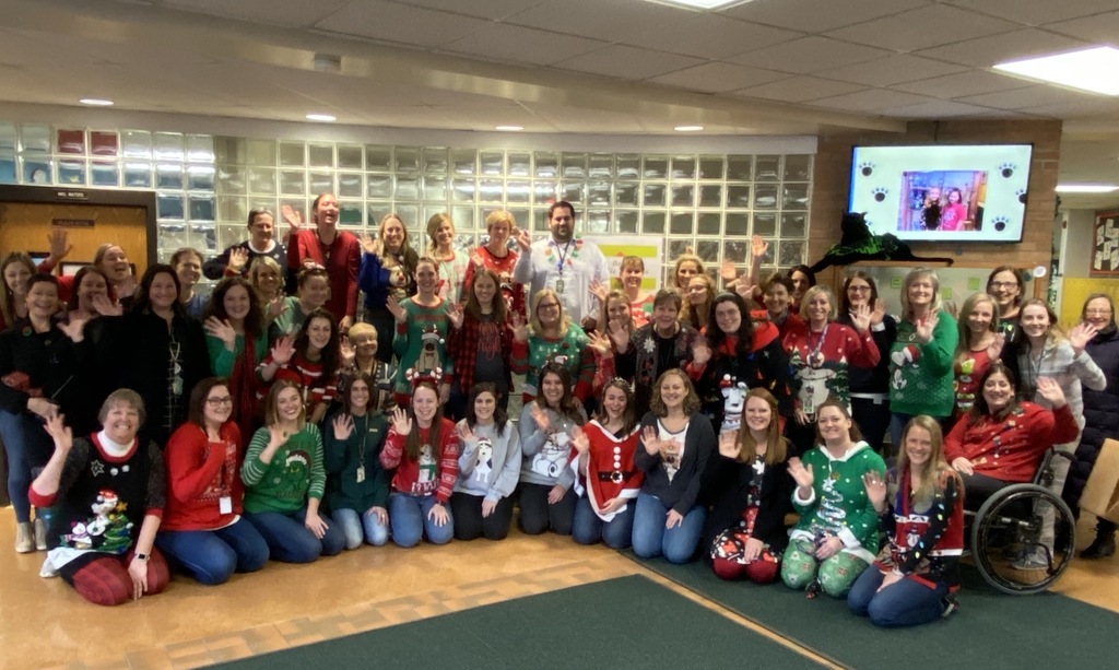 Happy Holidays from Prairie Grove Elementary!
