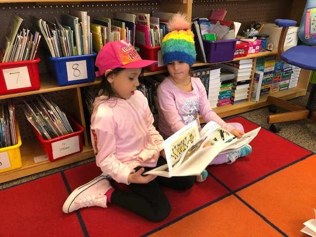 We are readers!