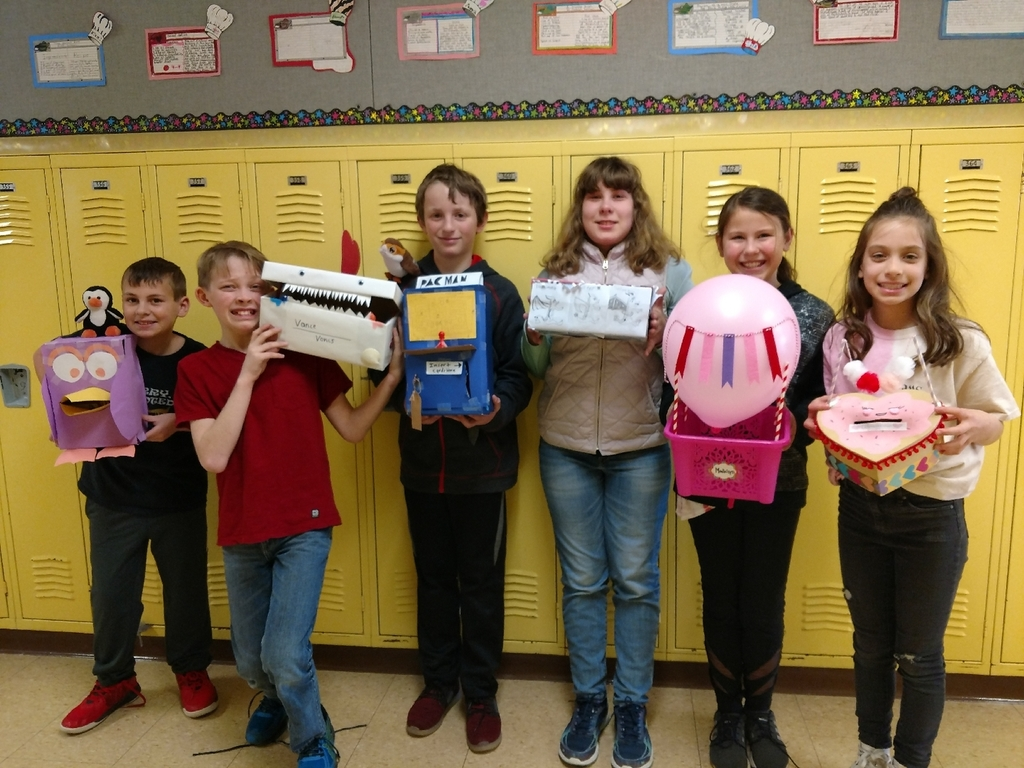 Happy Valentine's Day from 5th grade!
