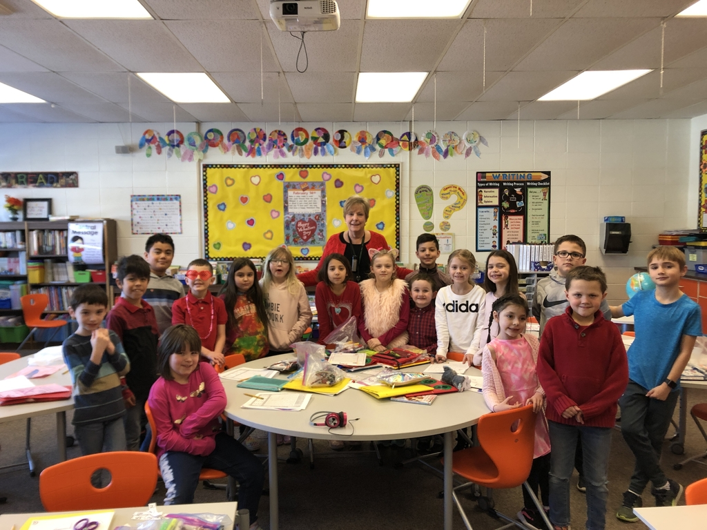 Happy Valentines Day from Mrs. Rohrer's class!